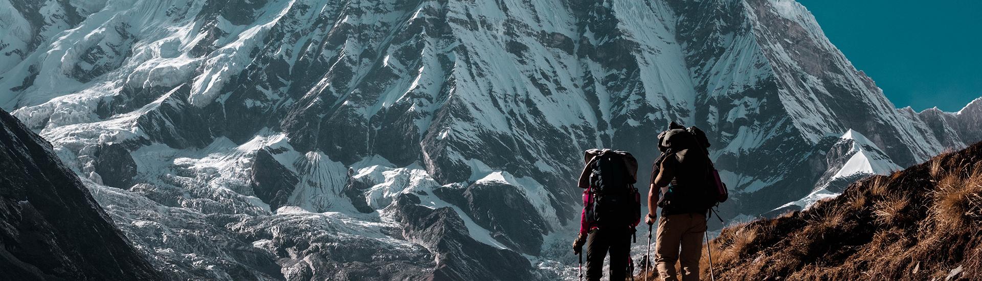 山と登山者