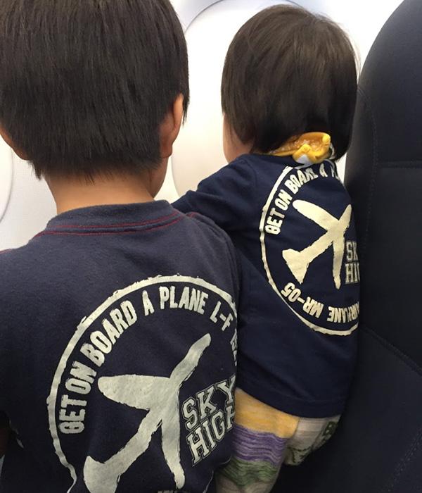 Y.Kさんおやこ(男の子9歳、男の子1歳)