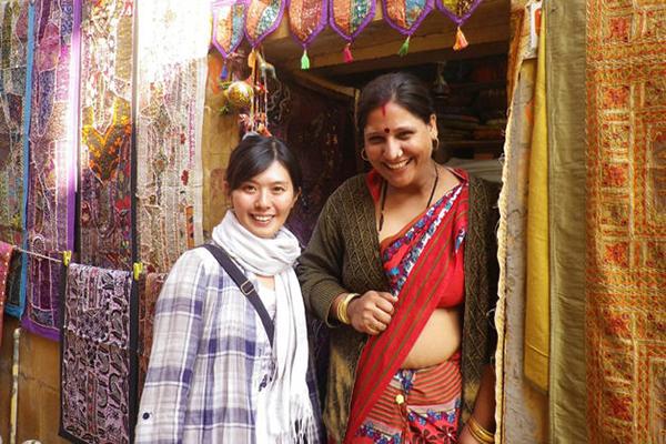 インド人と岡本未幸