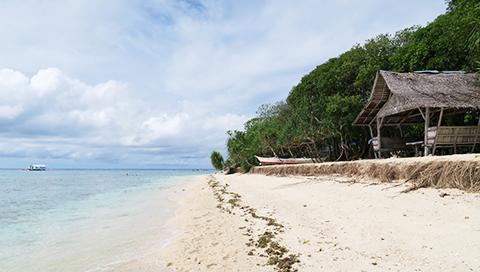 セブ島のきれいな海